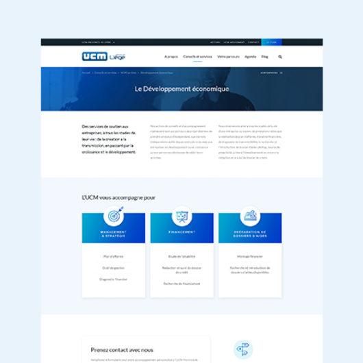 ucm-site-detail service